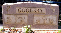 Laura Bell <I>Lewis</I> Goolsby