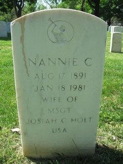 Nannie Mae <I>Calfee</I> Holt