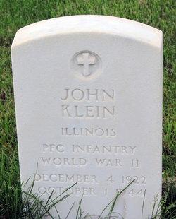PFC John Klein