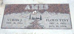 """Floyd """"Tiny"""" Ames"""