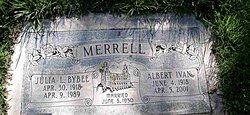 Julia Adair <I>Bybee</I> Merell