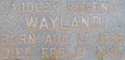 Audley Eugene Wayland