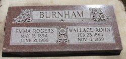 Emma Mirretta <I>Rogers</I> Burnham