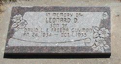 Leonard D Guymon