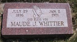 Maude Caroline <I>Johnson</I> Whittier
