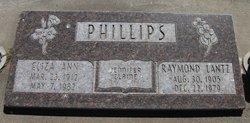 Eliza Ann <I>Hurst</I> Phillips