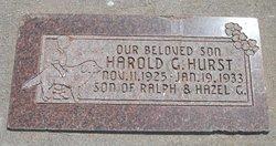 Harold Guymon Hurst