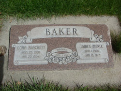 Dona <I>Blackett</I> Baker