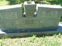 Effie <I>Moran</I> Hamilton