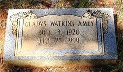 Gladys <I>Watkins</I> Amey