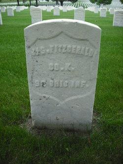 Pvt James Edward Fitzgerald