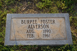 Burpee <I>Foster</I> Alverson
