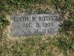 Edith Virginia <I>Racer</I> Rothgeb
