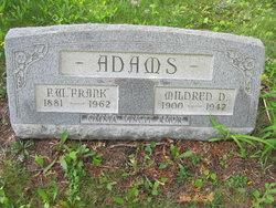 """F W """"Frank"""" Adams"""