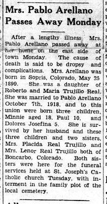 Mrs Pablo <I>Real</I> Arellano