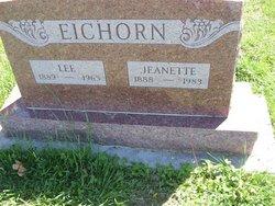 "Jeanette Alice ""Nettie"" <I>Tannahill</I> Eichorn"