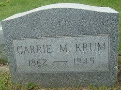 Carrie Maria <I>Merriam</I> Krum