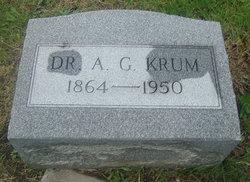 "Dr Ashley Grant ""A. G."" Krum"
