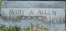 Mary Anna <I>Willis</I> Allen