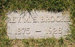 Rev Moses E Brooks