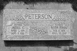 Anna Mary <I>Halverson</I> Peterson