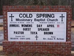 Cold Spring Baptist Church Cemetery