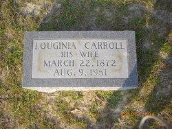 Louginia <I>Carroll</I> Adams