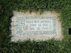 Elsie May <I>Garrett</I> Jacques