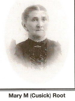 Mary Moore <I>Cusick</I> Root
