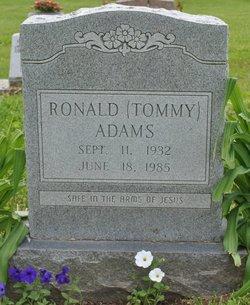 "Ronald ""Tommy"" Adams"