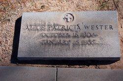 Alice Patricia Wester