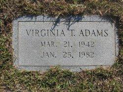 Virginia T. Adams