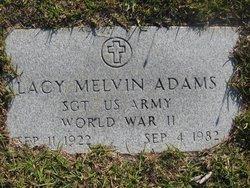 Lacy Melvin Adams