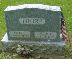 Betty J. <I>Tucker</I> Thorp