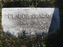 Claude C. Adams