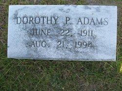 Dorothy P. Adams