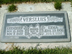 Erma <I>Johnson</I> Versluis