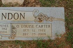 Owsley Louise <I>Carter</I> DeGlandon