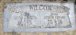 Leona Jane <I>Hatch</I> Wilcox