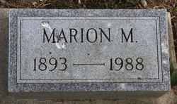 Marion M. <I>Anderson</I> Agar
