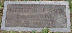 Lucille H <I>Hilliard</I> Burner