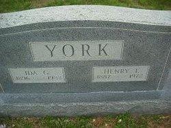 Ida Greenville <I>McGrew</I> York