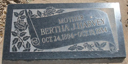 Bertha Irene <I>Johnson</I> Harvey