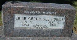 Erma Garda <I>Gee</I> Adams