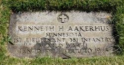 1LT Kenneth Harold Aakerhus