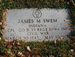 Corp James Madson Swem