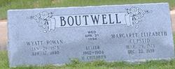 """Wyatt Rowan """"Buck"""" Boutwell"""