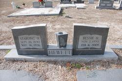 Bessie Mae <I>Hewett</I> Hewett