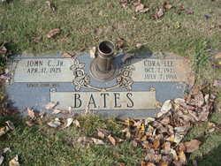 Cora Lee <I>Hagood</I> Bates