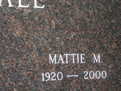 Mattie M. <I>Elliott</I> Crandall